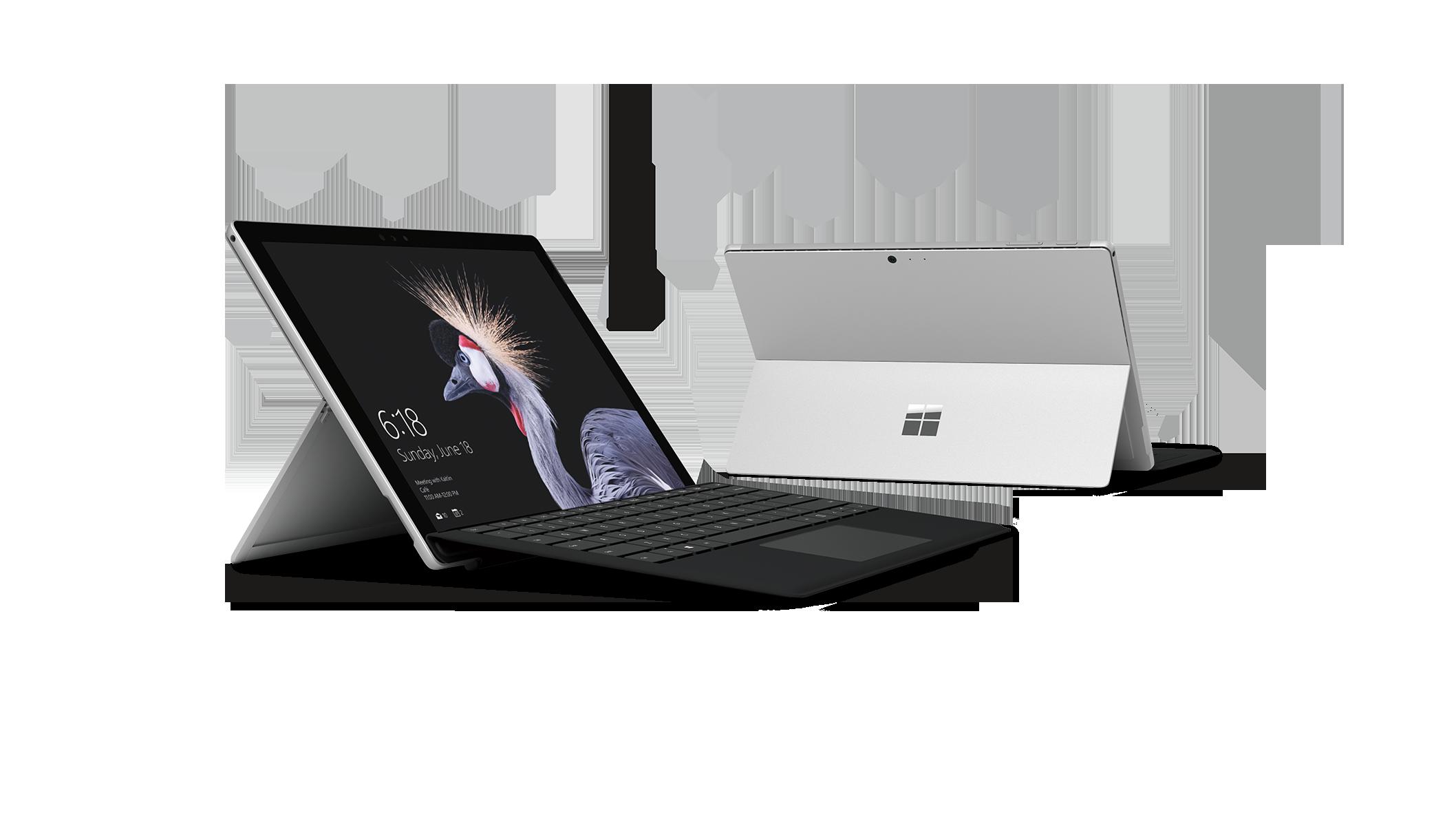 Clavier Type Cover avec identification biométrique pour Surface Pro