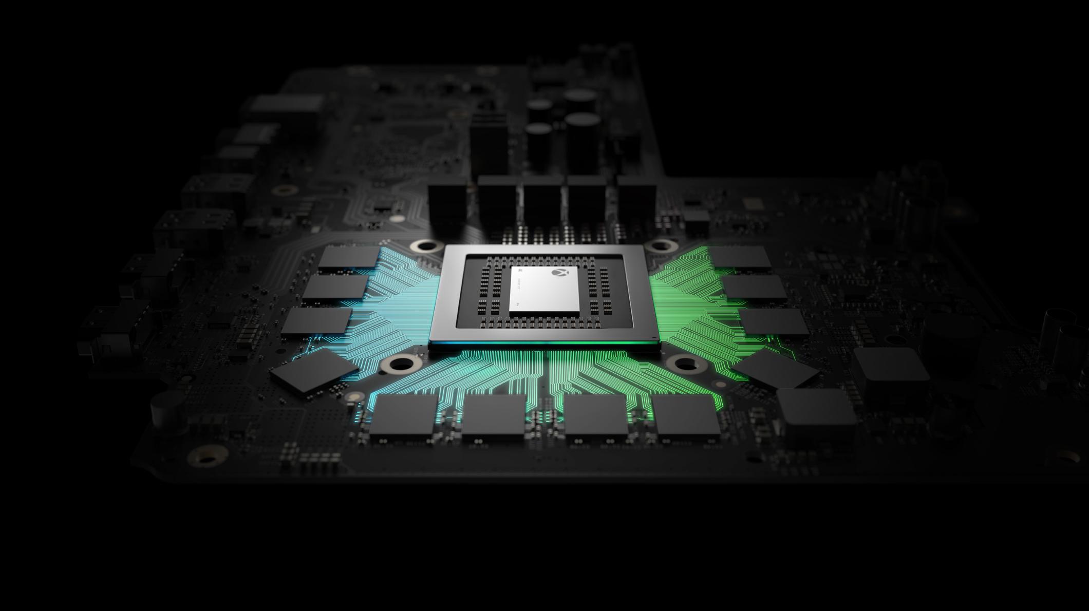 Xbox One X processor