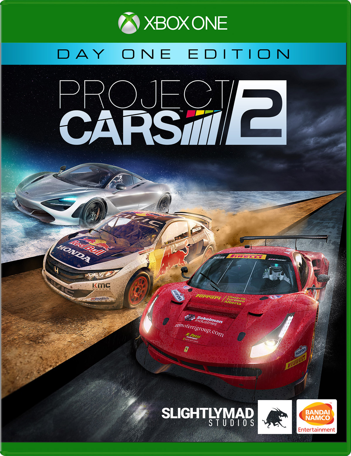 Project CARS 2: Day One Edition for Xbox One