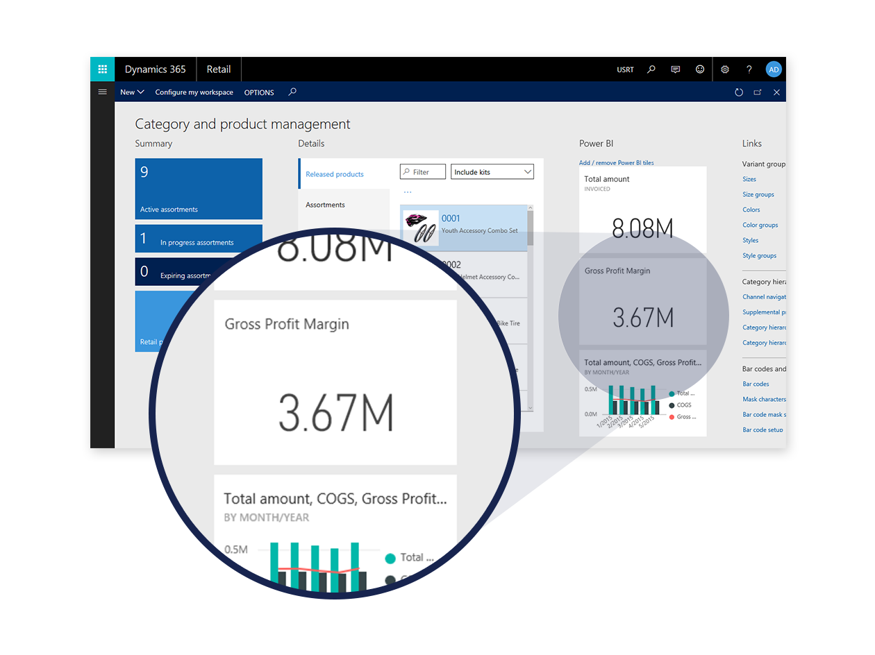 Optimeret drift i Dynamics 365