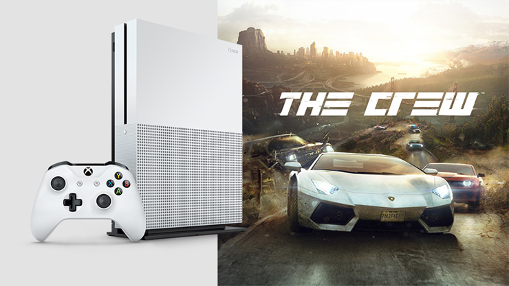Xbox One S and The Crew
