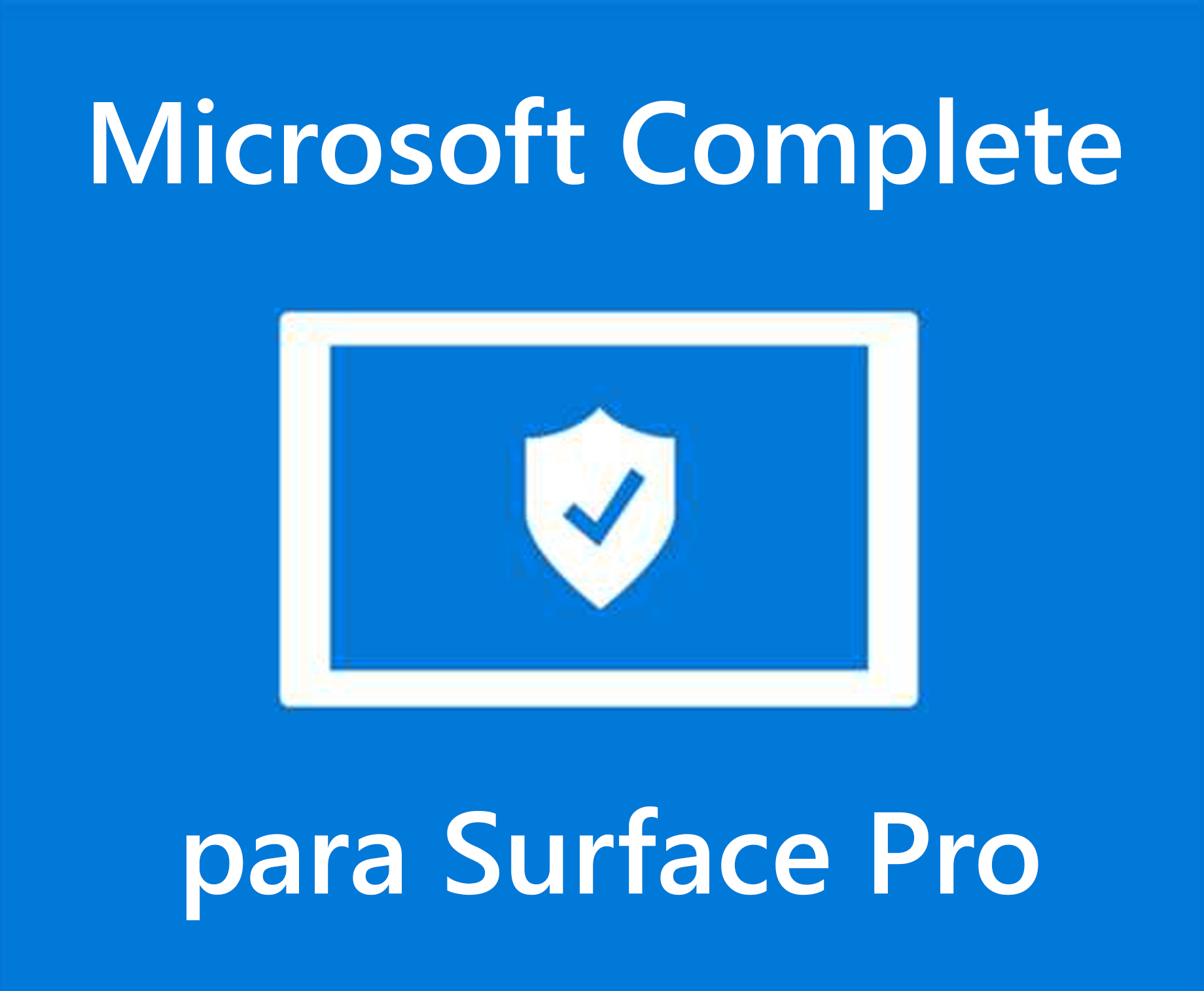 Microsoft Complete para Surface Pro