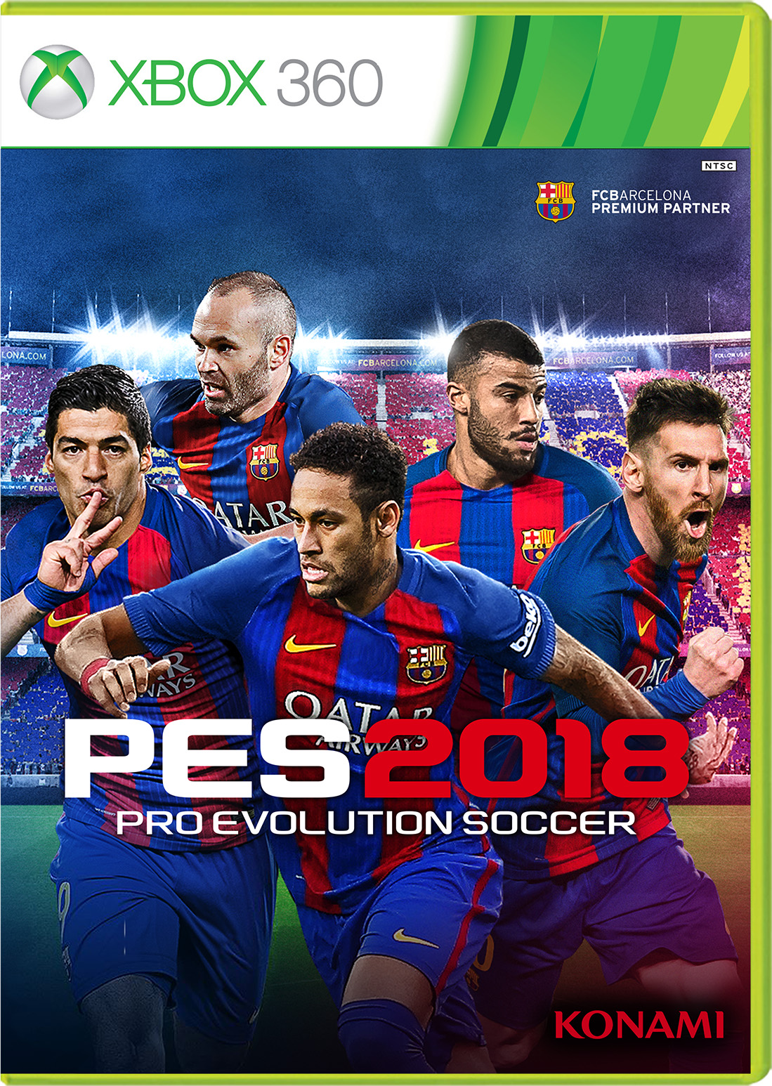 Pro Evolution Soccer 2018 for Xbox 360