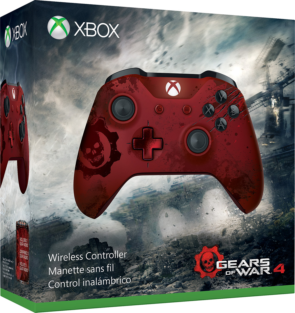 Xbox Wireless Controller Gears of War 4 Limited Edition