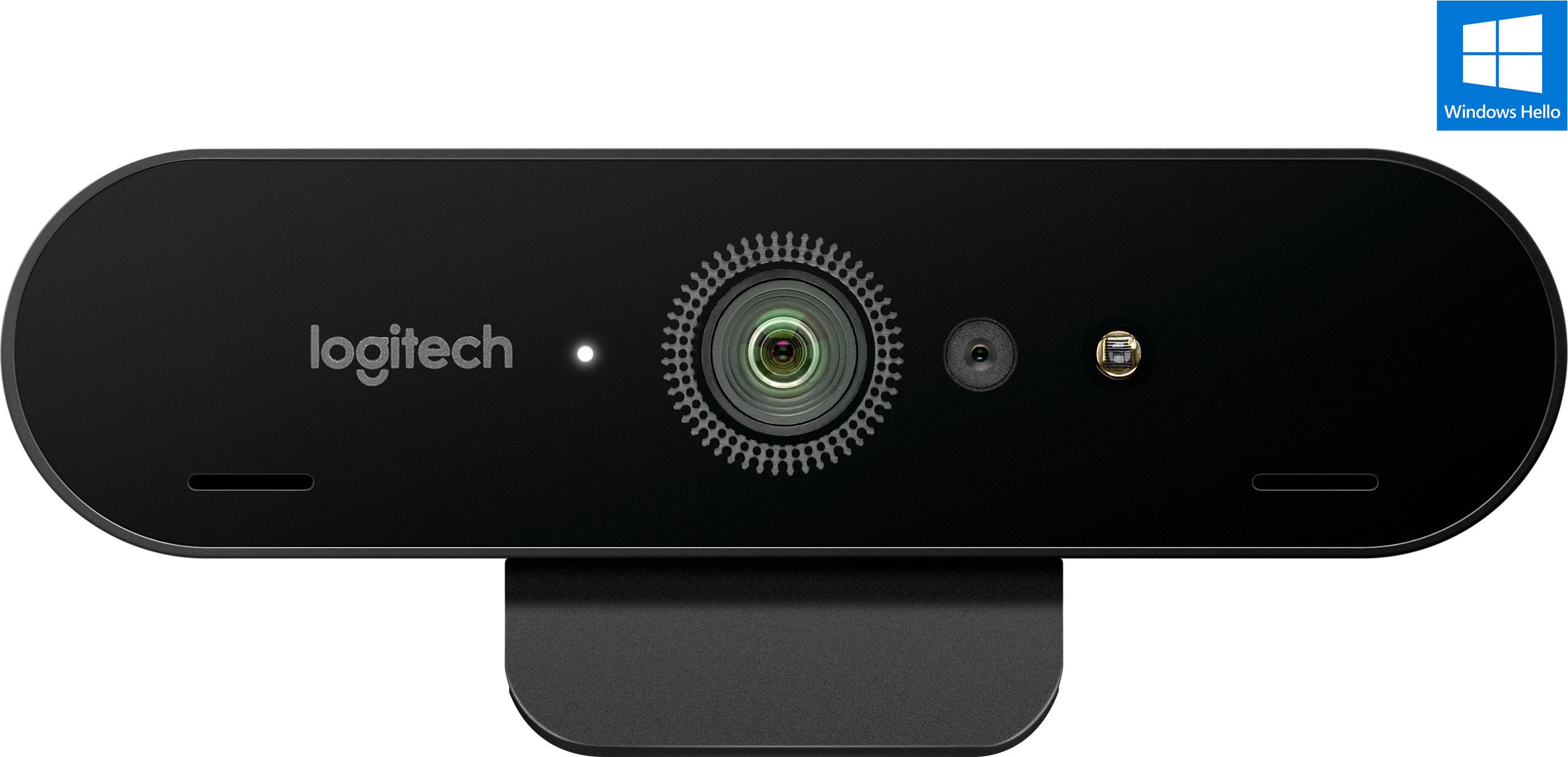 Logitech BRIO 4K Ultra HD Webcam - Certified for Windows Hello