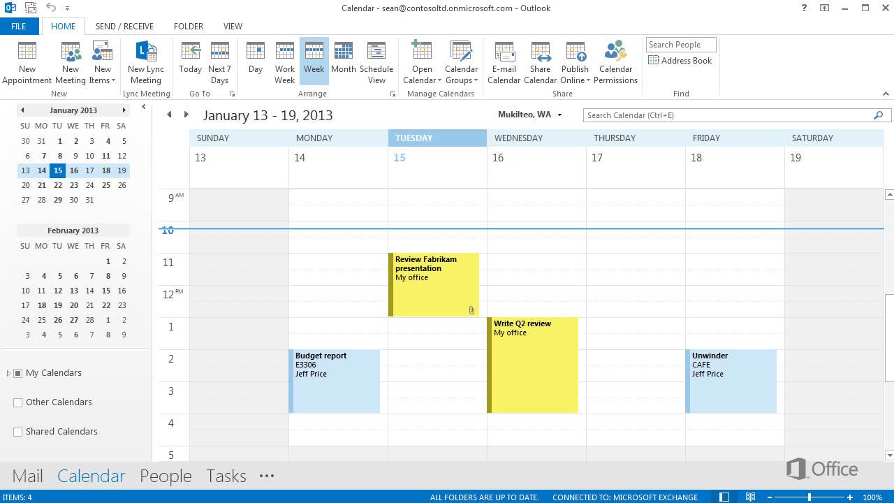 Video Calendar Basics Outlook