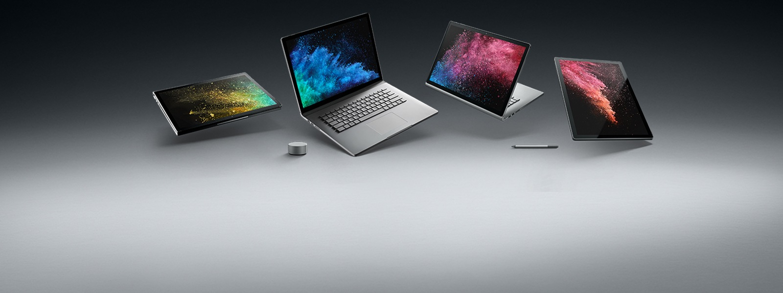 Surface Book 2, Surface Dial et stylet