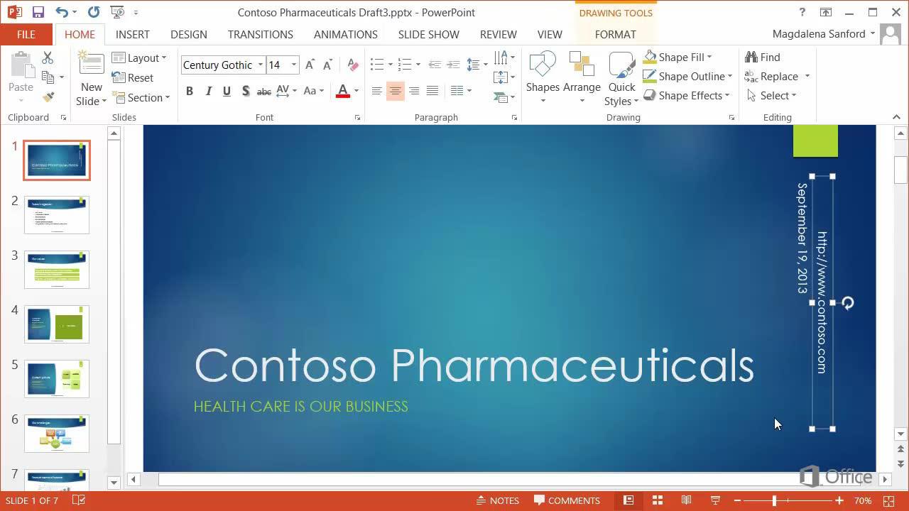 Video edit headers and footers on the slide master powerpoint toneelgroepblik Choice Image