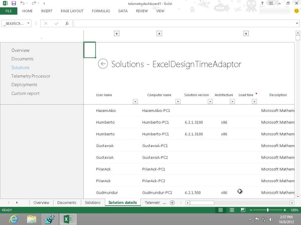 Überwachen von Office-Kompatibilität und -Bereitstellungen mit dem ...