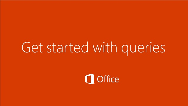 Video: Get started with queries