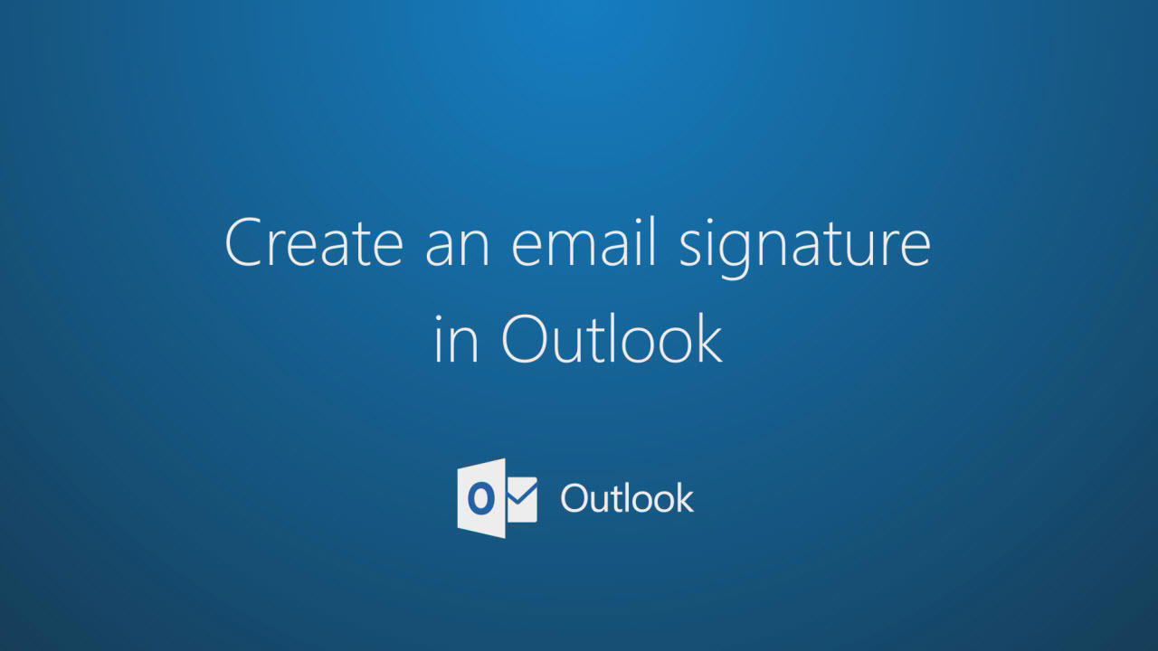 Create and add a signature to messages outlook magicingreecefo Image collections