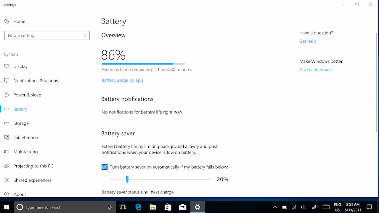 Surface battery won't charge or Surface won't run on battery