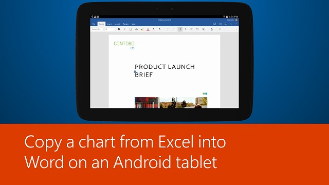 can you use microsoft excel on android tablet