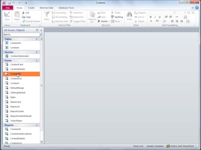 Video Modify The Access  Templates  Office Support