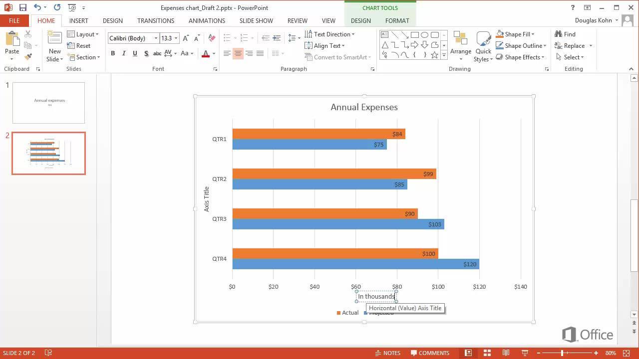 Video customize a bar chart powerpoint nvjuhfo Gallery