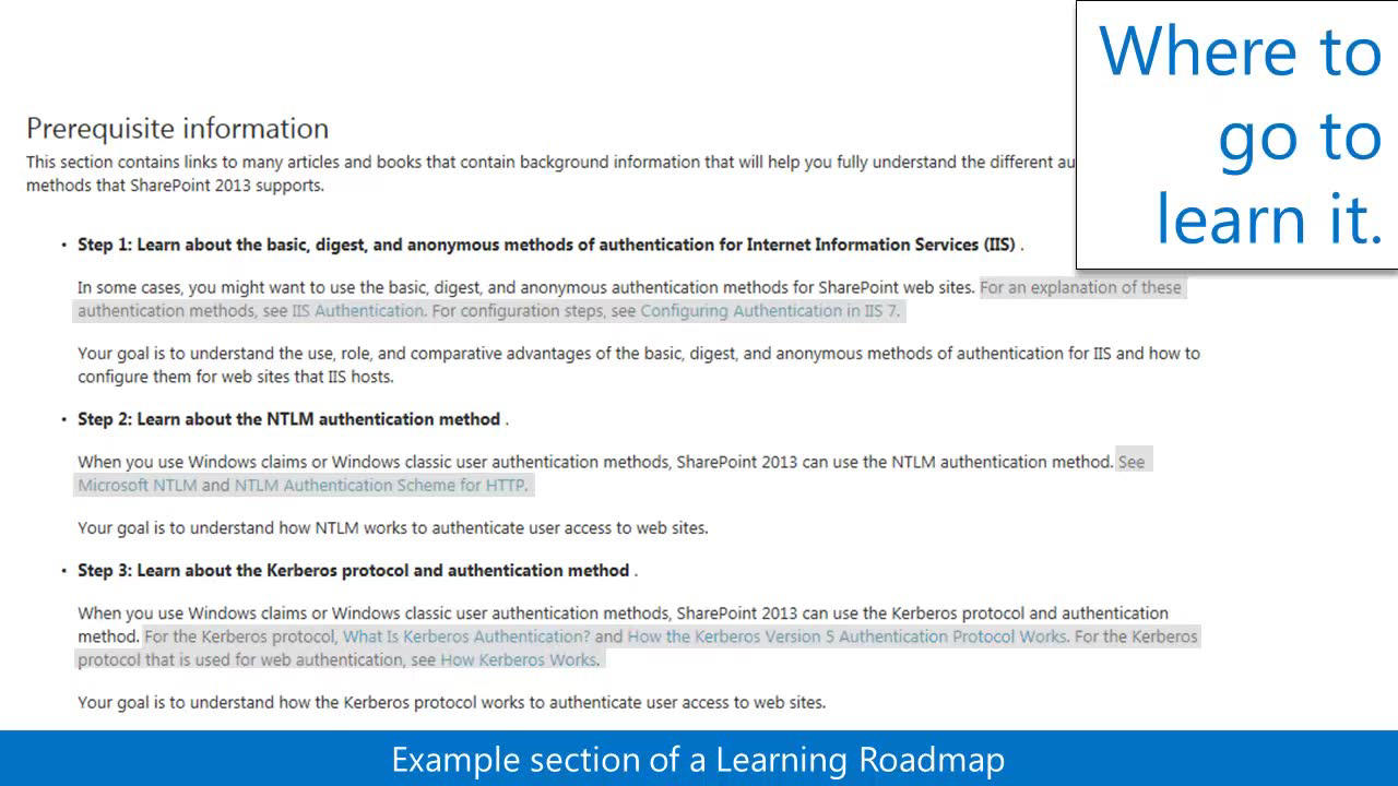 Learning roadmaps for sharepoint 2013 xflitez Gallery