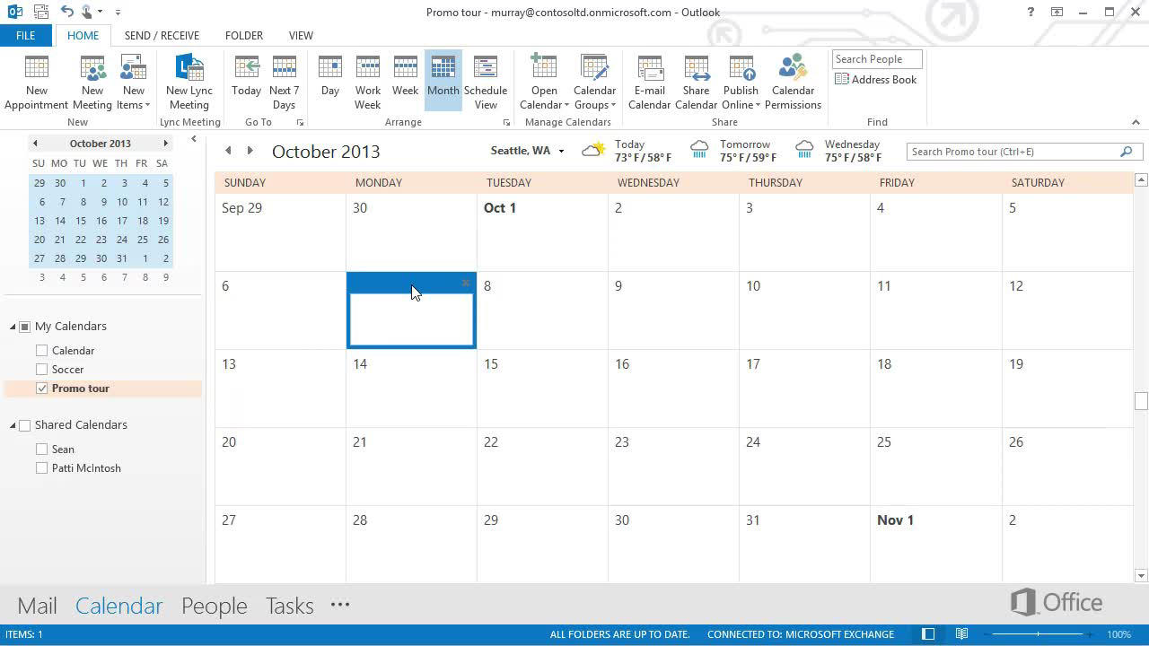 video take calendars to the next level office support