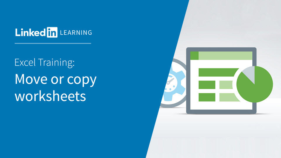 Video: Move or copy worksheets - Excel