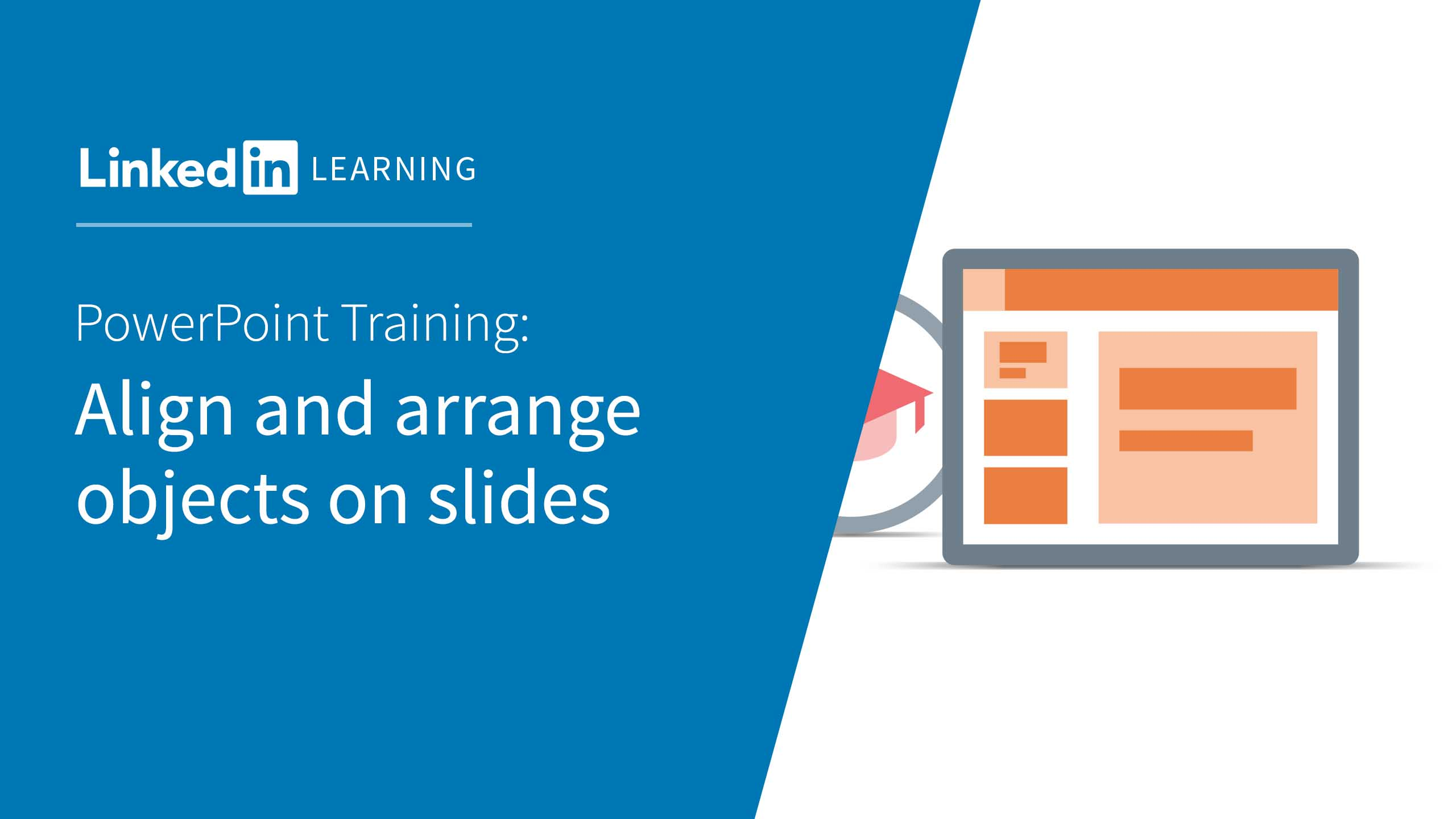 Video align and arrange objects on slides powerpoint