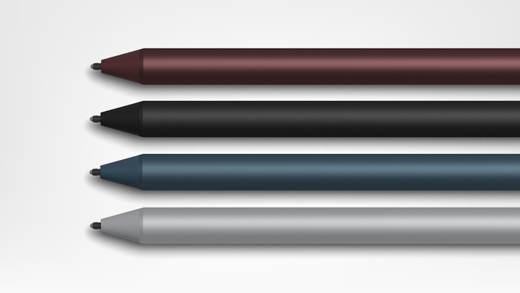 Surface pro pens, assorted colors