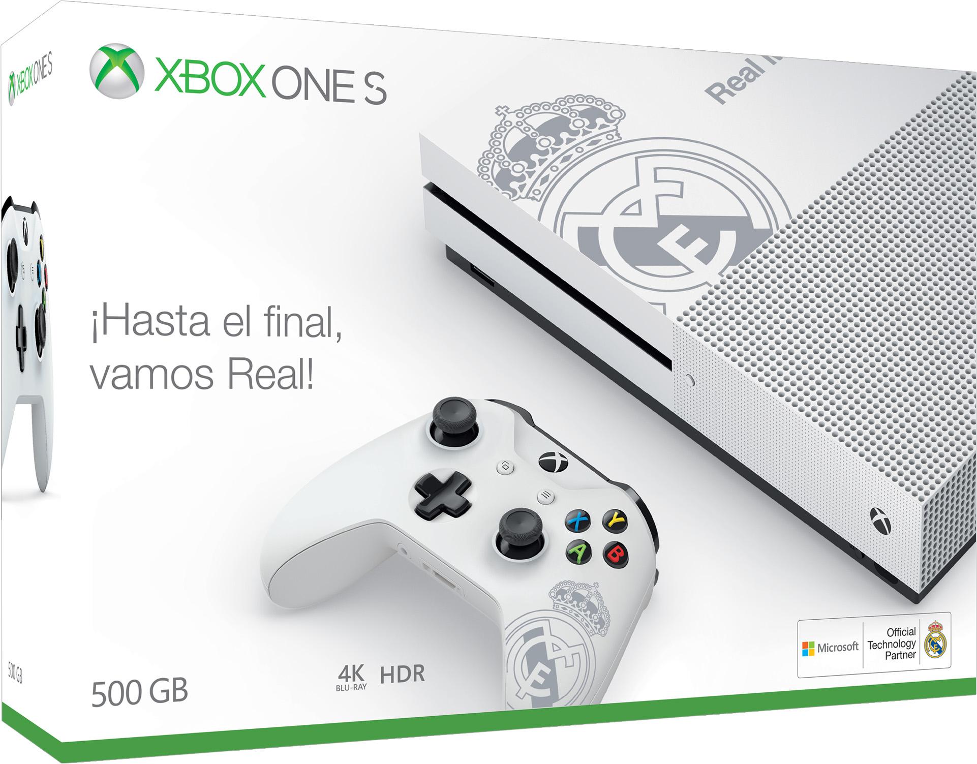Xbox One S Real Madrid Bundle