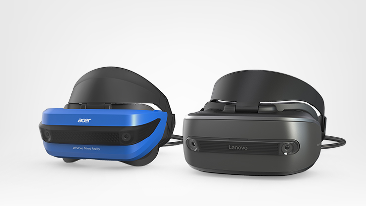 mixed reality headsets, acer and lenovo