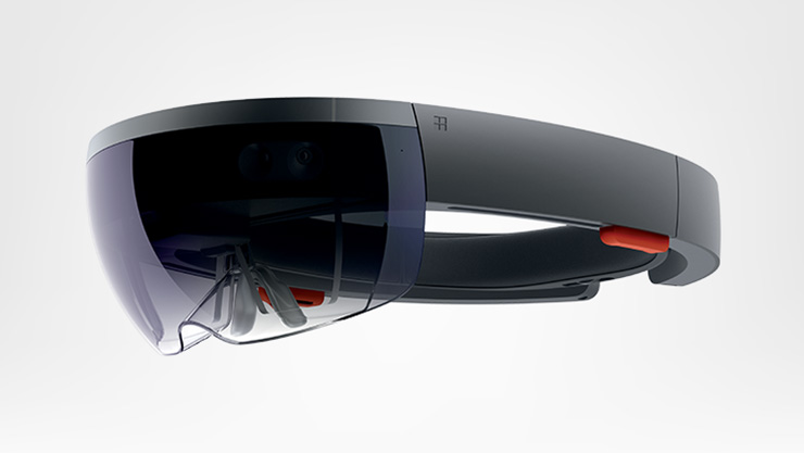 Hololens - Side view