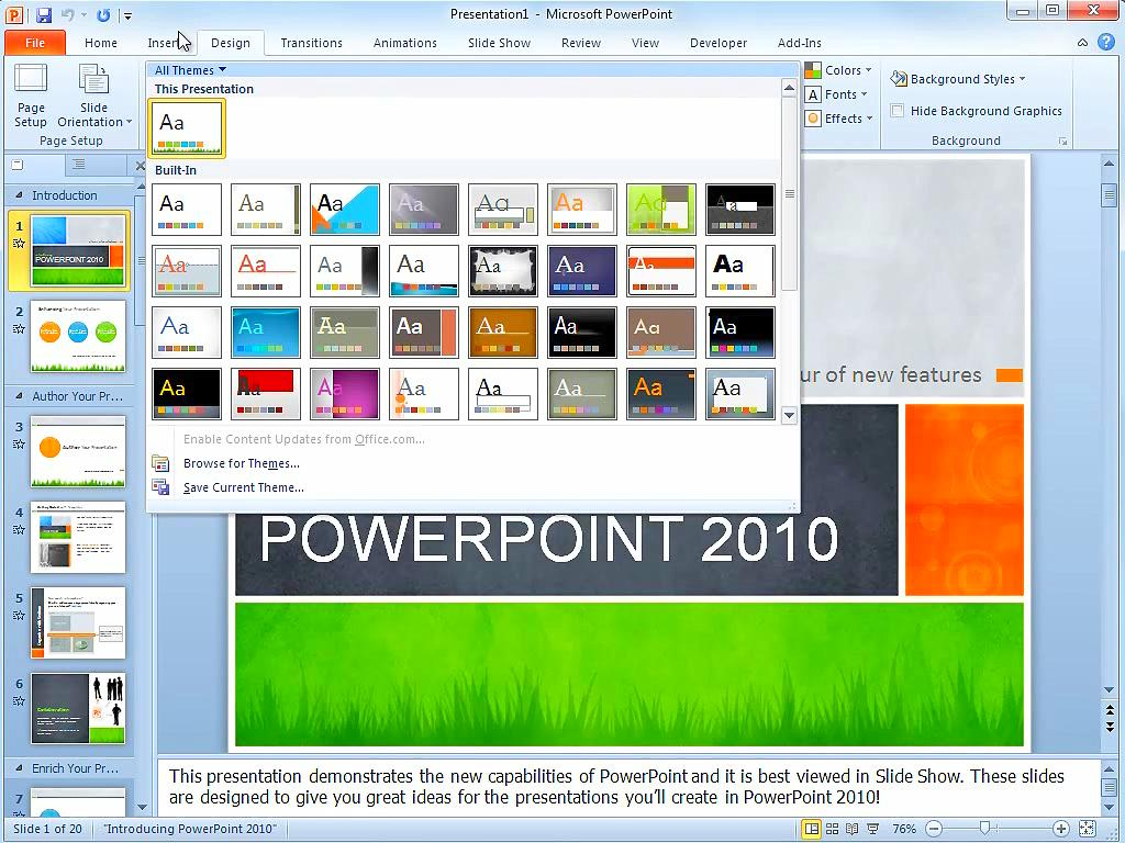 finalize work on the microsoft powerpoint slide presentation updating it with new information based  This week, we're discussing how to create effective slides using powerpoint you'll learn about the tools available within powerpoint, how to structure your storyline, create storyboards, identify primary elements of slide design, display data and finalize your slide presentation.