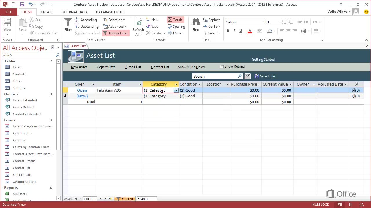 Video: Create a desktop database