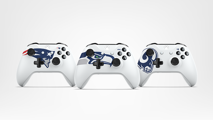 NFL team themed Xbox One controllers