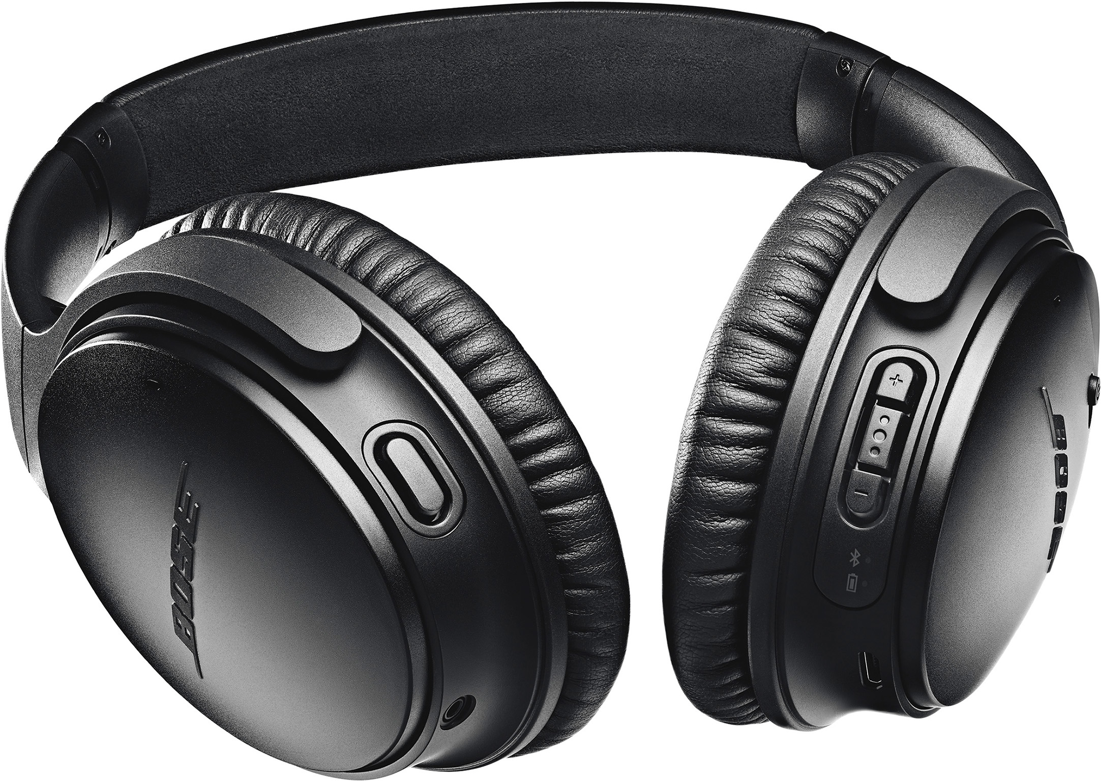 Image of BOSE QuietComfort 35 II Headphones (Black) QK7-00313