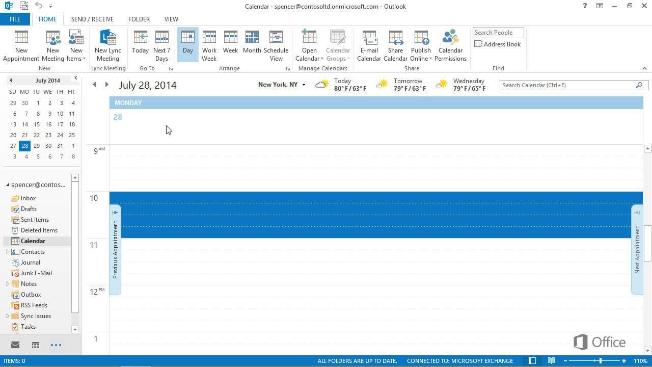 Erstellen von Vorlagen für Kalender, Aufgaben und Kontakte - Outlook