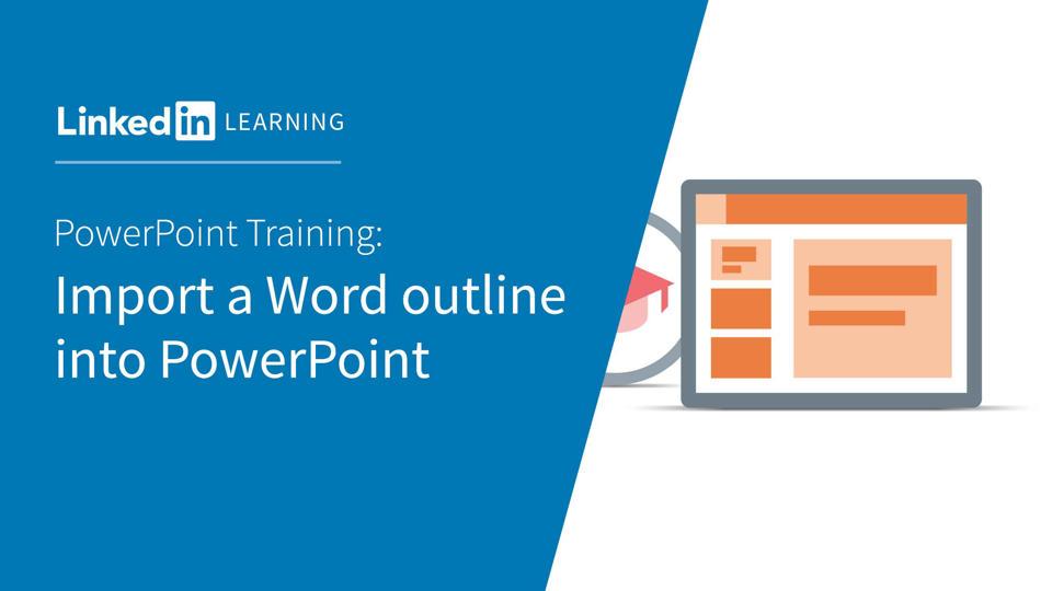 Video import a word outline into powerpoint powerpoint toneelgroepblik Gallery