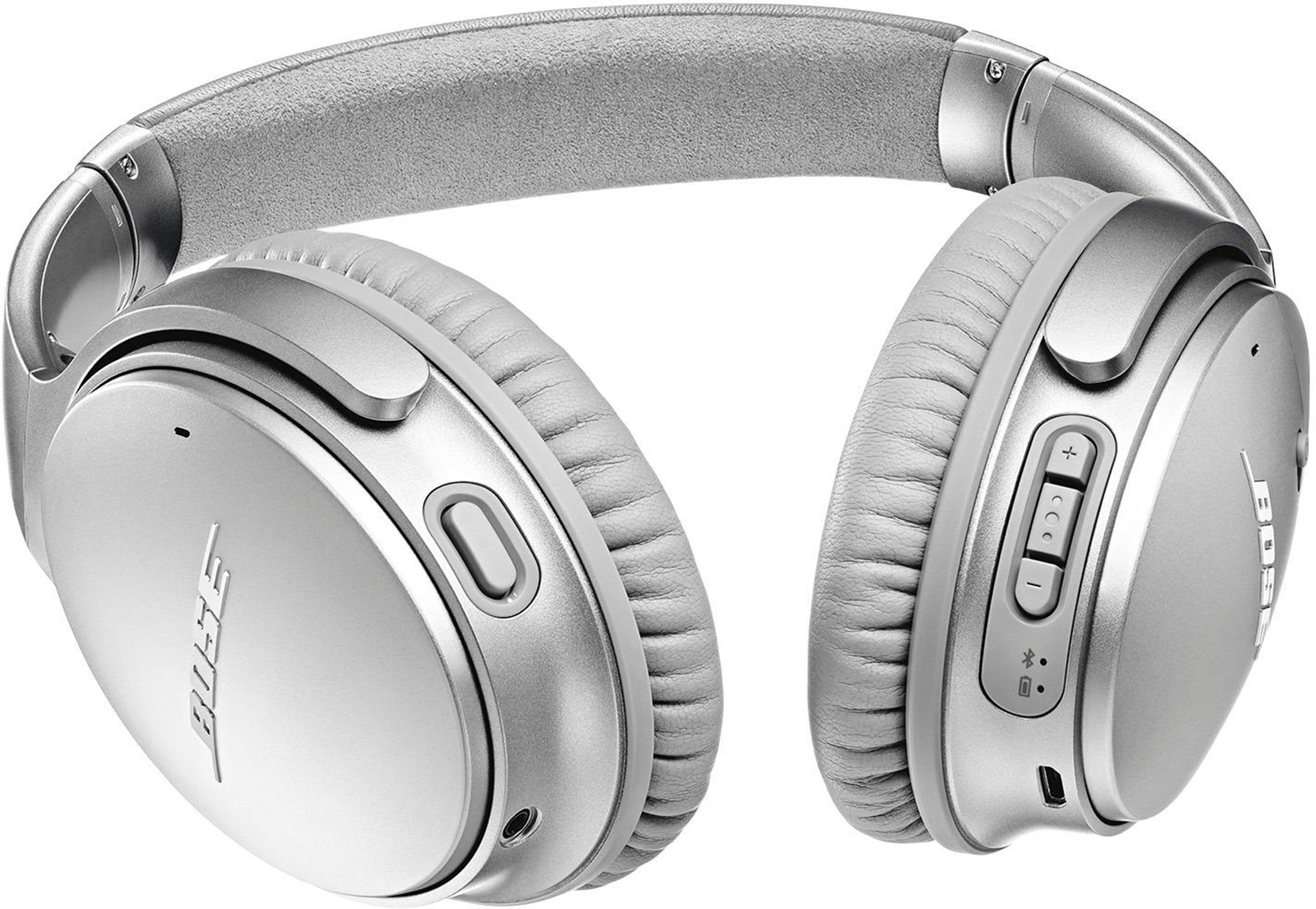 bose noise cancelling headphones 35. bose quietcomfort 35 ii headphones (silver) bose noise cancelling