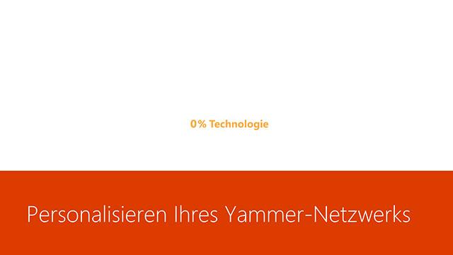 Video Personalisieren Eines Yammer Netzwerks Office 365