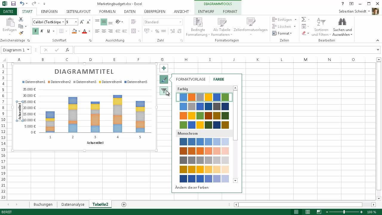 Neuerungen in Excel 2013 - Excel