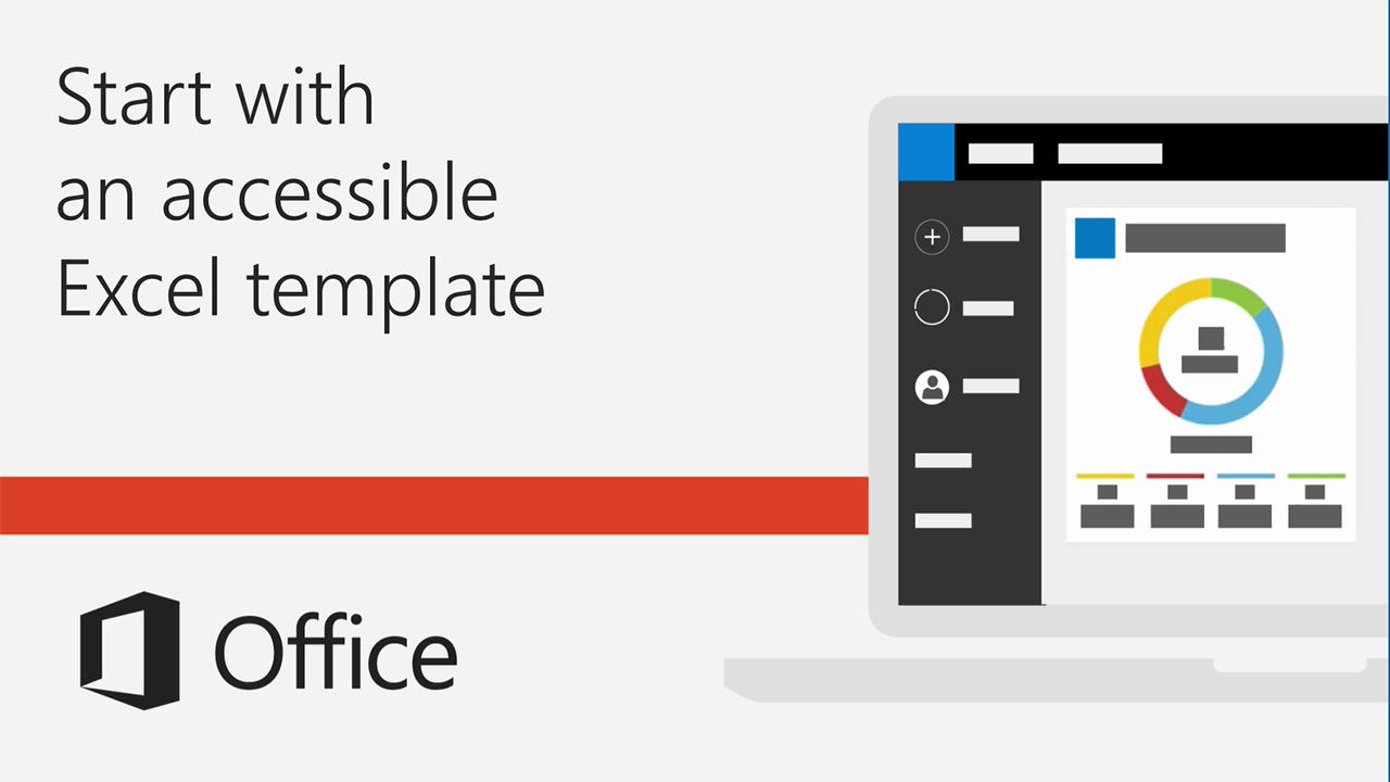 Video Start With An Accessible Excel Template Office Support