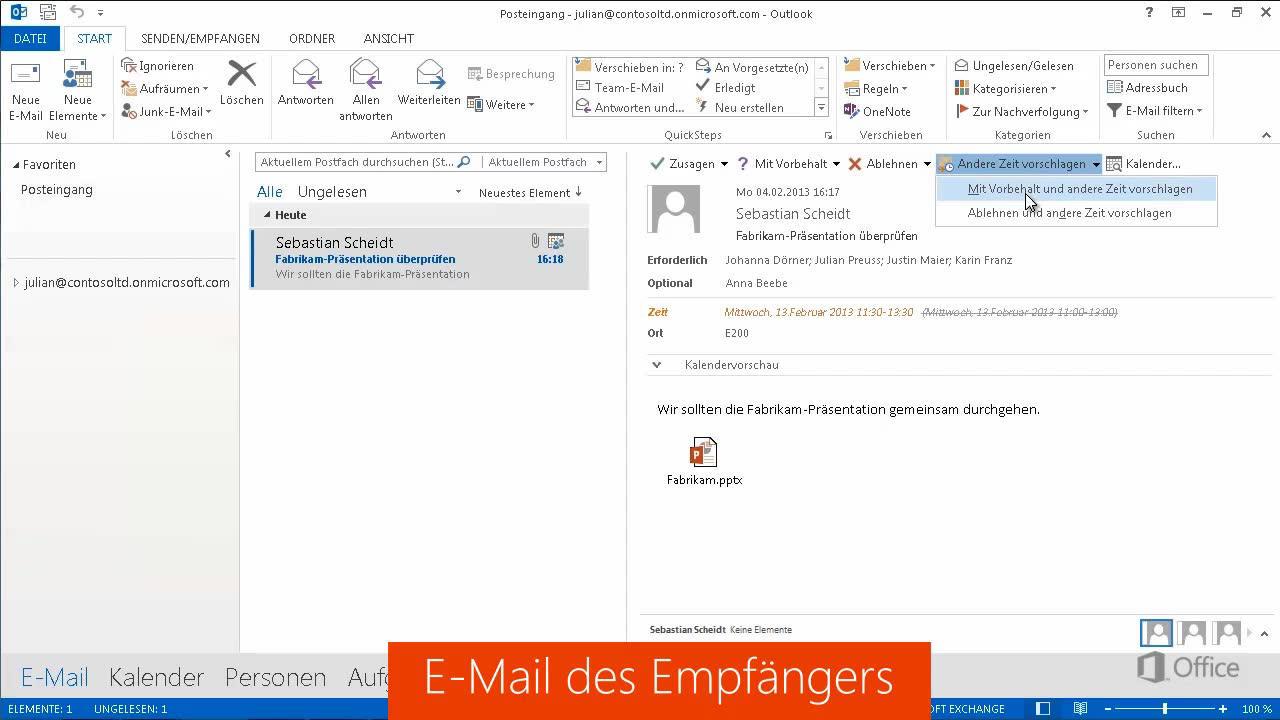 Nett Verwenden Von Vorlagen In Outlook Fotos - Beispiel Business ...