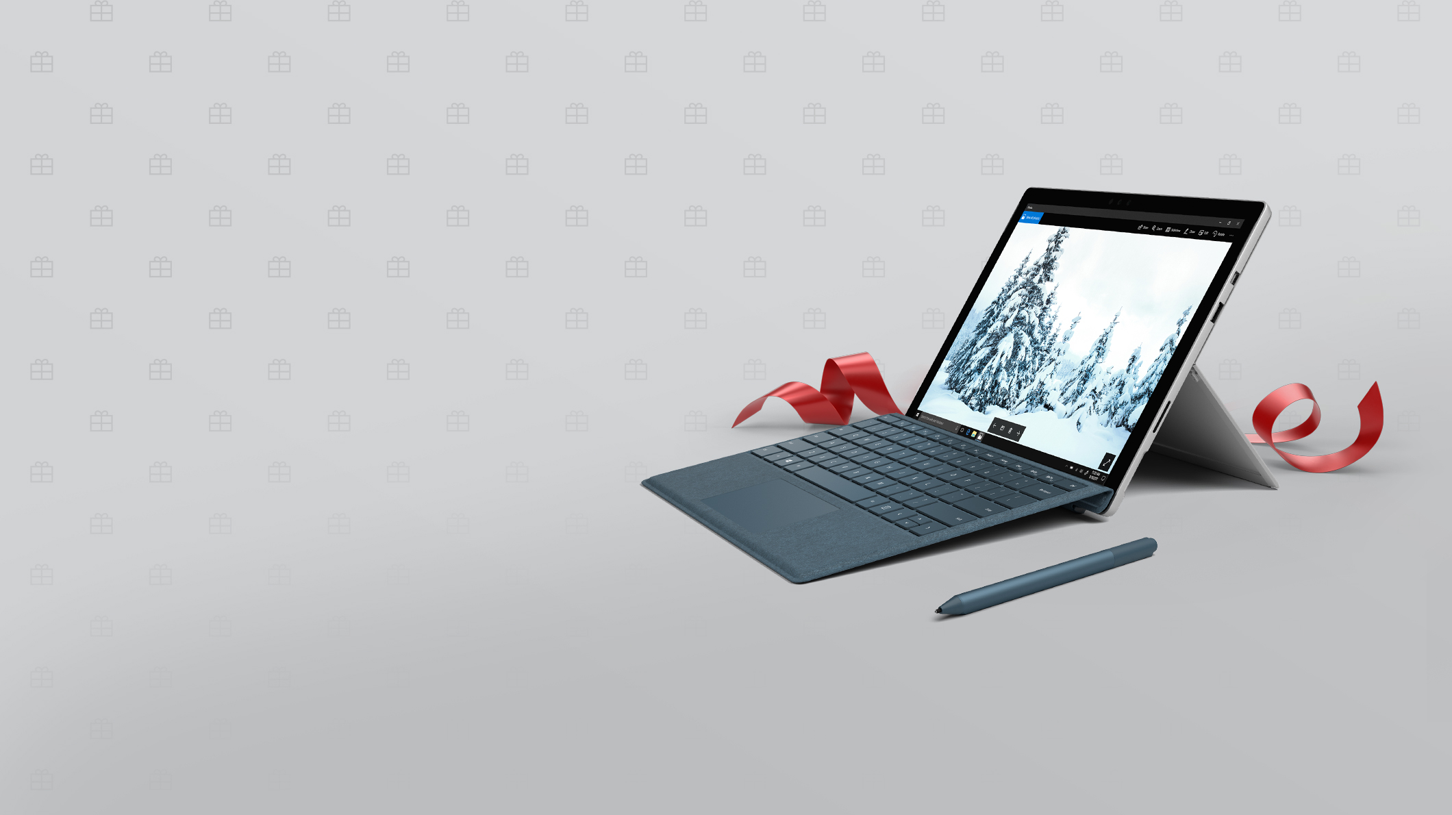 A Surface Pro and a Surface Pen