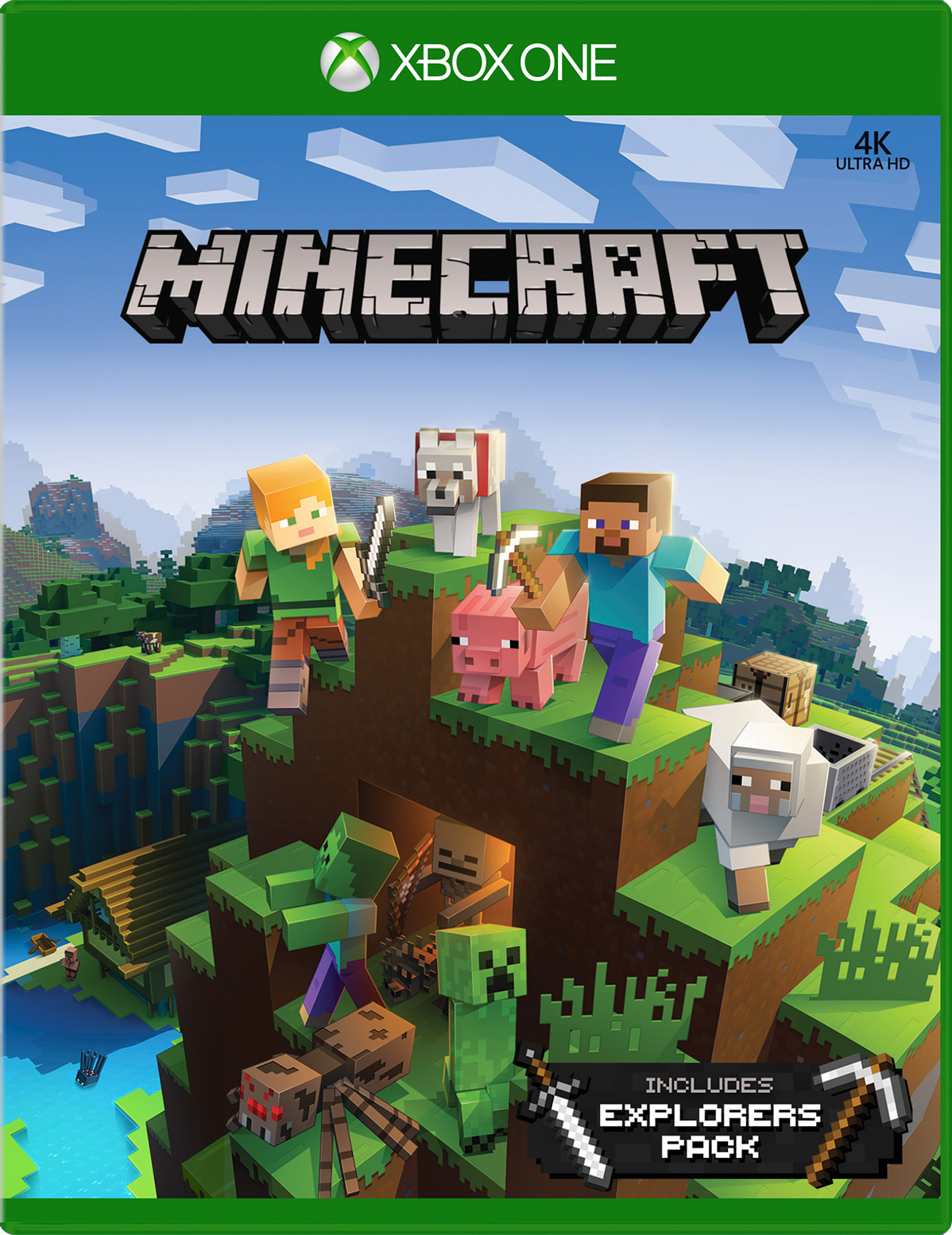 Buy Minecraft Explorers Pack for Xbox One - Microsoft Store