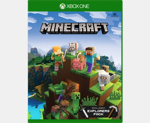 minecraft xbox 360 game for sale