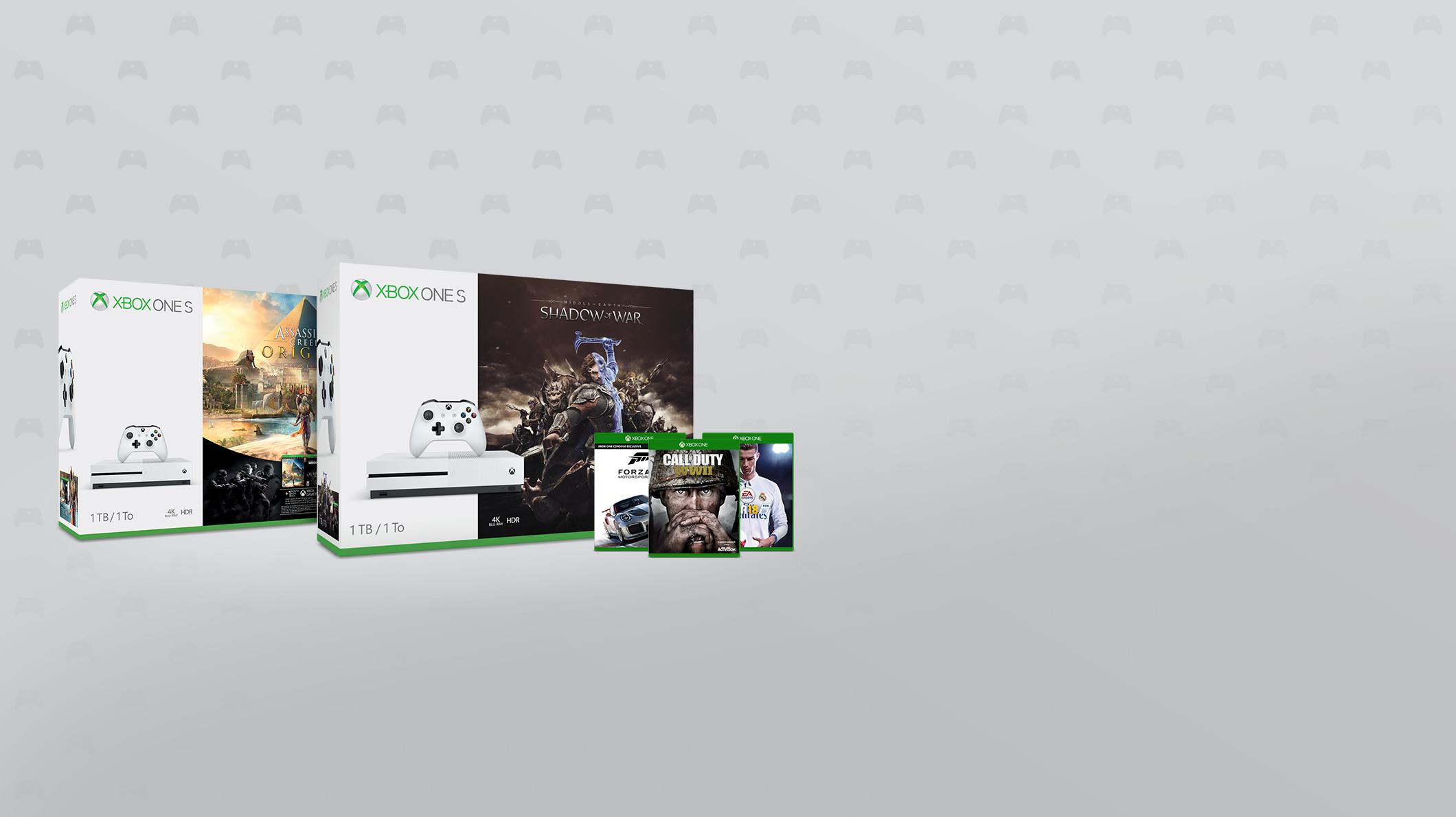 Xbox One konsoler, Xbox One spel