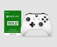 Xbox Live Gold en controller