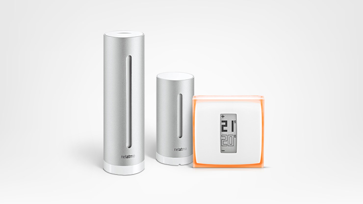 Thermostat and Weather Station Netatmo