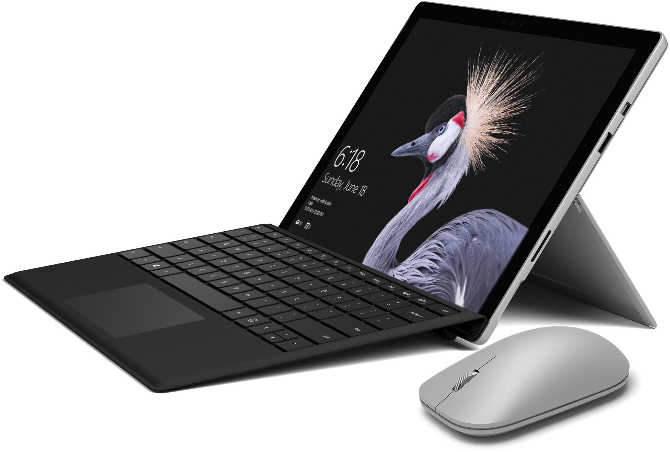 Dispositivo Surface Pro con cover con tasti e mouse Surface