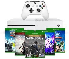 Microsoft Xbox One S 500GB Console Bundle