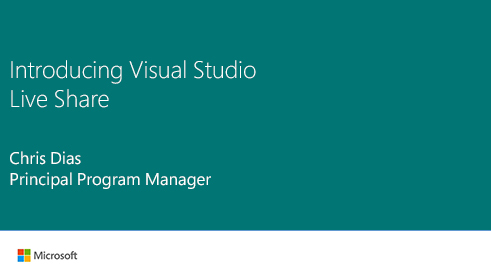 Image thumbnail for Introducing Visual Studio Live Share video