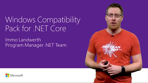 Image thumbnail for Windows Compatibility Pack for .NET Core video