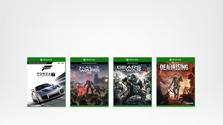4 jogos Xbox.