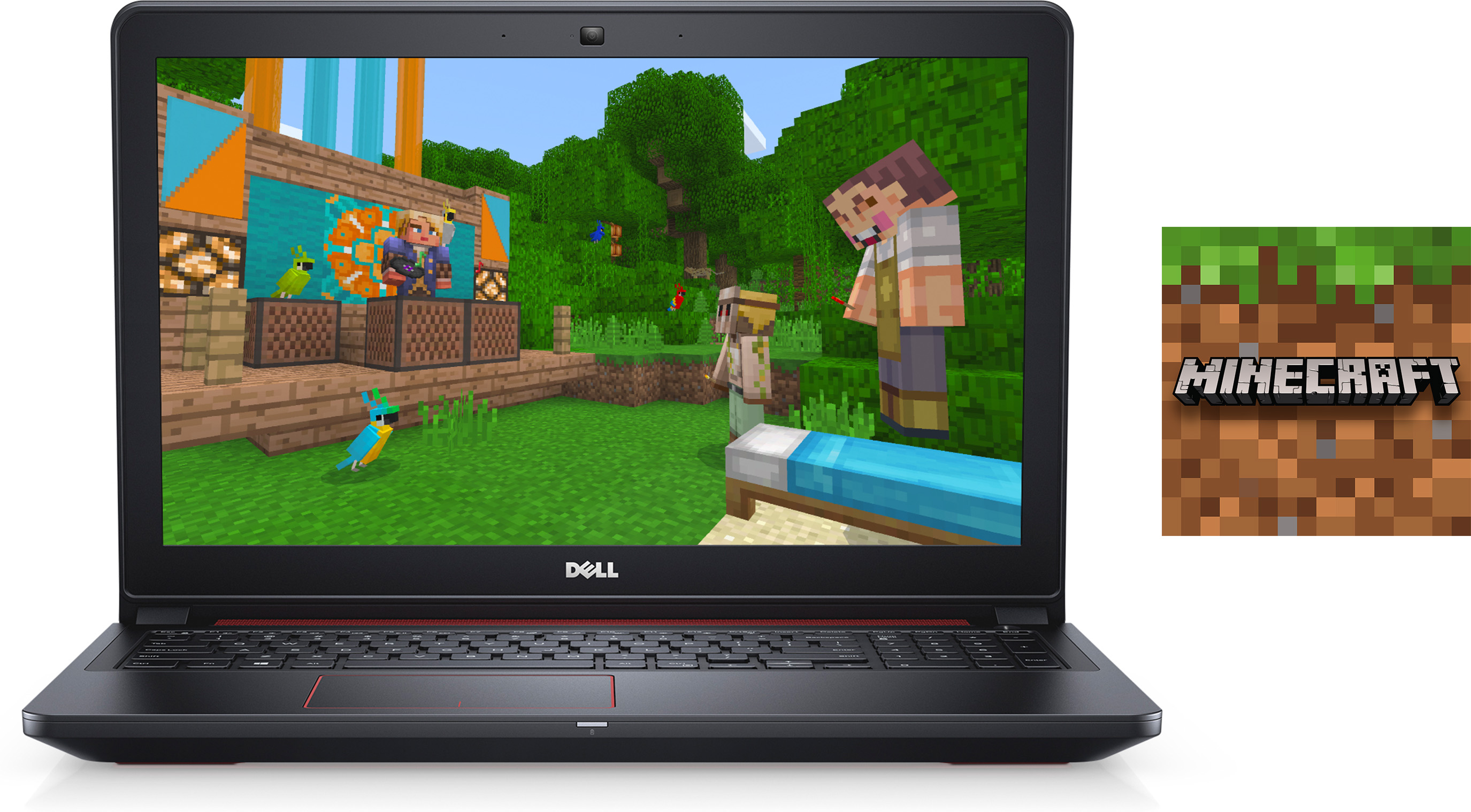 Dell Inspiron 15 Laptop and Minecraft for Windows 10 Bundle